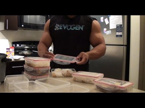 How to Prepare Meals for Bodybuilding