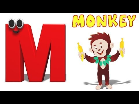 Phonics Letter- M | Alphabet Songs For Children | Phonics Letters For Toddlers | Videos For Kids
