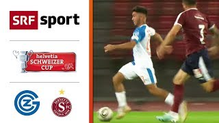 GC - Servette FC | Highlights - Schweizer Cup 2019/20 - 1/16-Finals