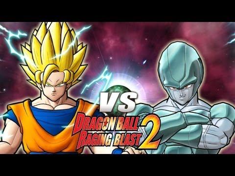 Dragon Ball Z Raging Blast 2 - Ssj2 Goku Vs. Meta Cooler (what If Battle) video