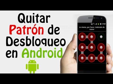 Desbloquear Telefono Movil Android por Intentos errados en Patrón de
