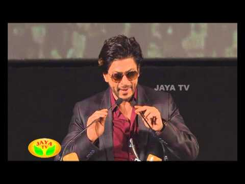 Speech By ARR & SRK In Kochadaiyaan Audio Launch