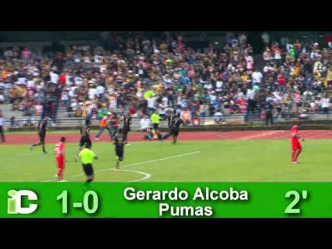 Pumas sufre pero gana en CU al Toluca