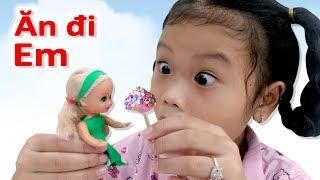 Trò Chơi Làm Kẹo Mút Cho Búp Bê Barbie ❤SuSi Review TV❤
