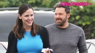 Ben Affleck & Jennifer Garner Attend Sunday Morning Church Together With The Kids 12.11.16