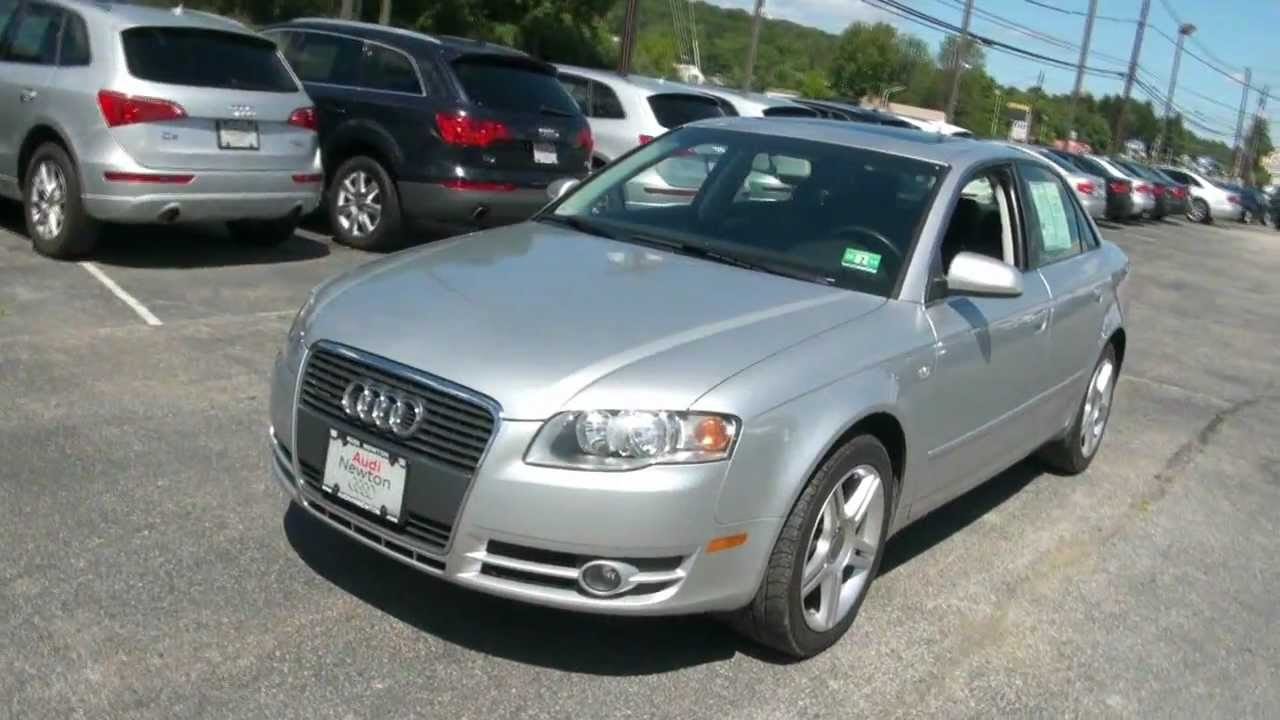 2007 audi a4 2 0t quattro sedan youtube. Black Bedroom Furniture Sets. Home Design Ideas