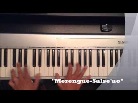 Como tocar Piano en Merengue con Ritmos Ripia'o y Maja'o
