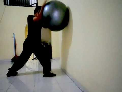 Kaiyu's Bajiquan - Standalone Push-Hands using Gym Ball- June 8, 2013 Image 1