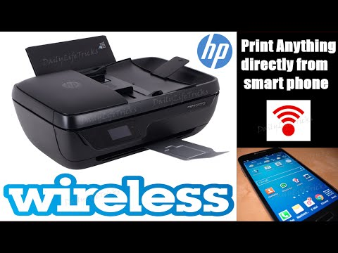 HP DeskJet Ink Advantage 3835 Printer Setup & Unboxing #1