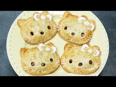 How To Make Hello Kitty Apple Pies! video