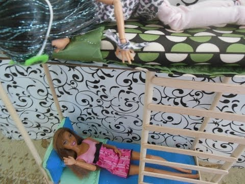 How To Make a Doll Bunk Bed & Mattress