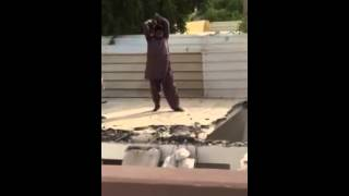 Roof Demolition with Hammer: FAIL!