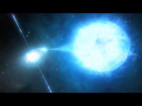 Visualization Of Black Hole NGC 300 X-1 (2 of 2) [720p]