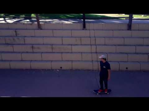 Dji Mavic Pro skateboarding