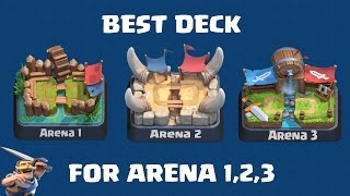 Clash Royale | Pemula? Best Deck for Arena 1, Arena 2, Arena 3 (Indonesia)