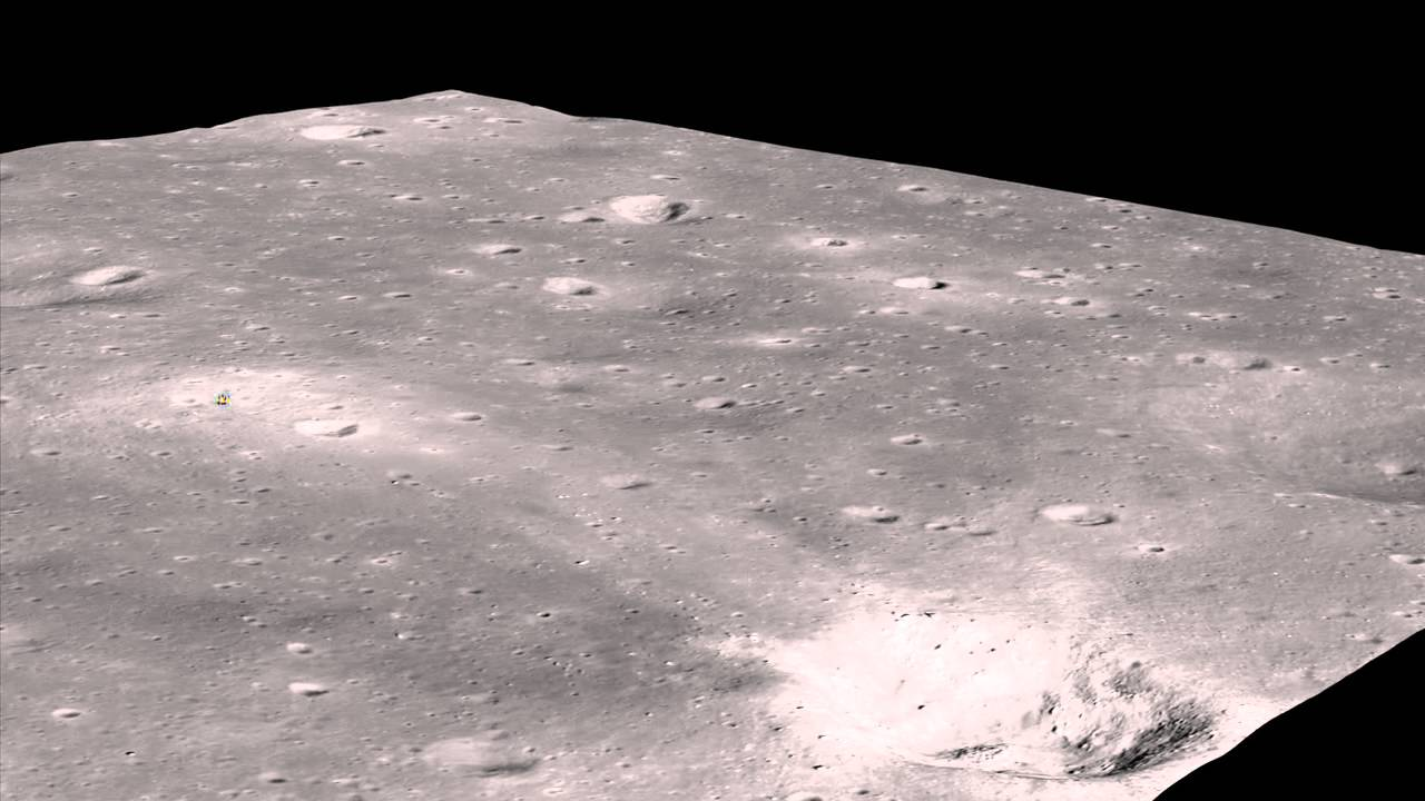 A New Look at the Apollo 11 Landing Site - YouTube