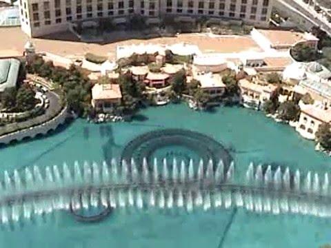Bellagio Fountains - Andrea Bocelli video