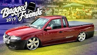 MAIS DE 1000 CARROS BAIXOS EM UM EVENTO! *Bagged Friends 2019 PT01*