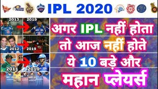 IPL 2020 - List Of 10 Top Big Players Made By IPL | IPL auction | MY Cricket Production