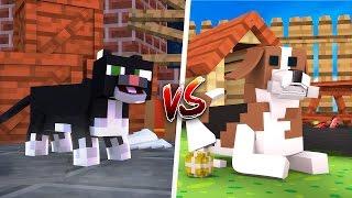 GATO VS CACHORRO ‹ Minecraft Machinima ›