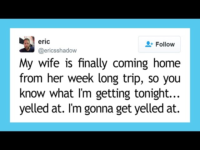 Top 10 Funniest Marriage Tweets