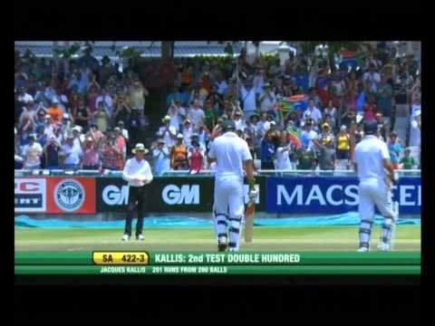 Proteas Team Tribute to Jacques Kallis