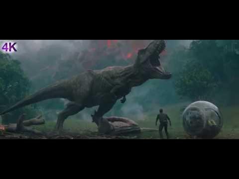 Jurassic World: Fallen Kingdom - 2018  - Feature Trailer - 4K -  Action, Adventure, Sci-Fi