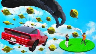 FLY FAST OR GET HIT! - GTA 5 Funny Moments