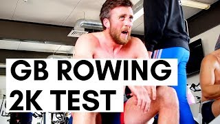 MENS 2KM TEST WITH GB ROWING | Vlog 29
