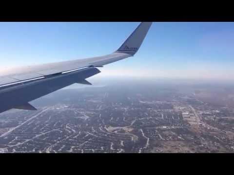 Landing at Dallas Fort Worth International Airport