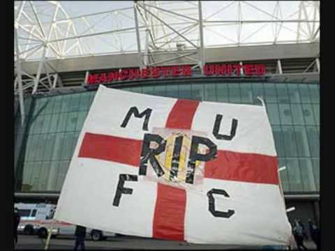 We Want the Glazers Out- Man United protest 2010. LOVE UNITED HATE GLAZER