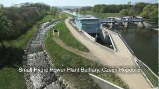 TES small hydro generators - Bulhary, Czech Republic