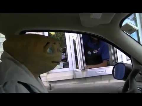 Stone Cold E.T. Fast Food Drive Thru!