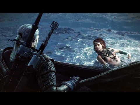 THE WITCHER 3 - PS4 Gameplay Trailer