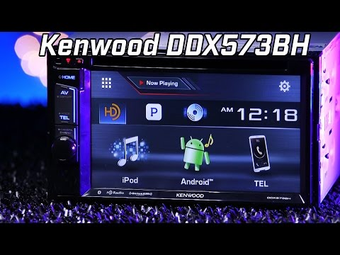 Kenwood DDX573BH Radio - Review and Demo 2016