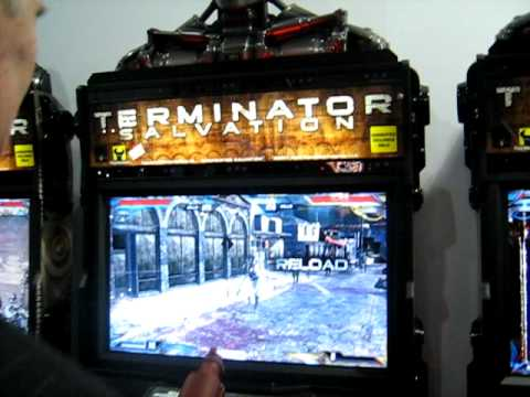 Terminator Salvation Arcade - Global VR - AEG Expo 2010 - www.neo-arcadia.com