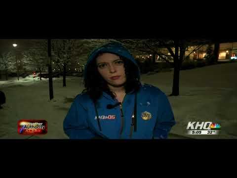 First major snowstorm of 2018 hits Spokane