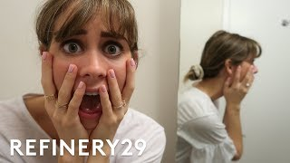 5 Days Of No Mirror | Try Living With Lucie | Refinery29
