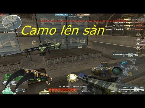 [ Bình Luận CF ] Barrett-Octagon Camo - Tiền Zombie v4