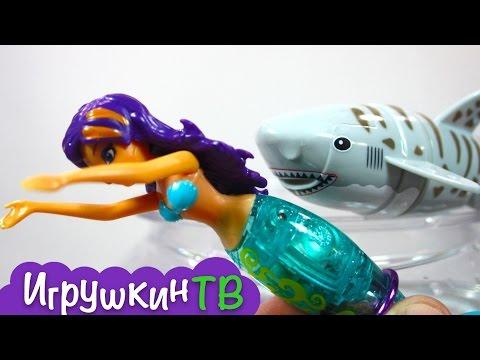 Открываем 3 подводные игрушки