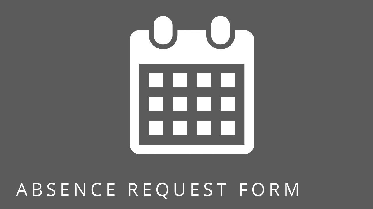 sharepoint templates  absence request form