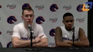 Boise State vs. UNM Post Game Conference - Paris Austin and James Reid - Men