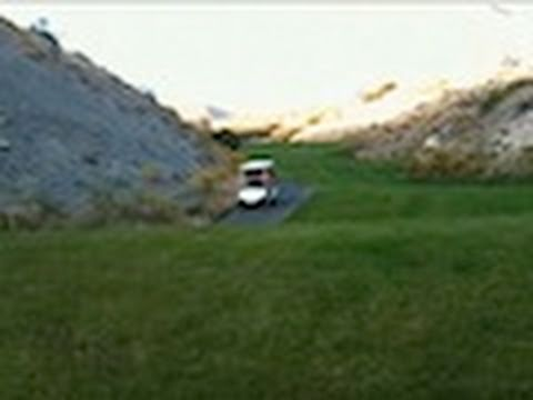 CuteWinFail: Golf Cart Crash