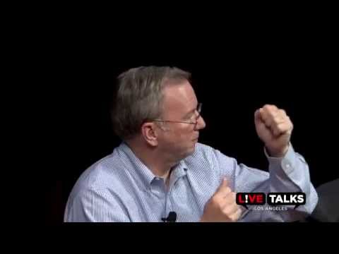 Eric Schmidt & Jonathan Rosenberg in conversation with Larry Vincent at Live Talks Los Angles