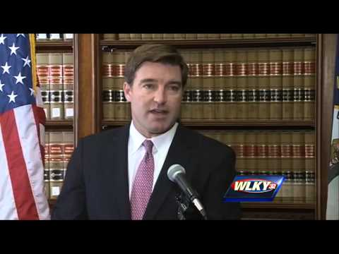 Raw video: Attorney General Jack Conway announces he won't appeal gay marriage ruling