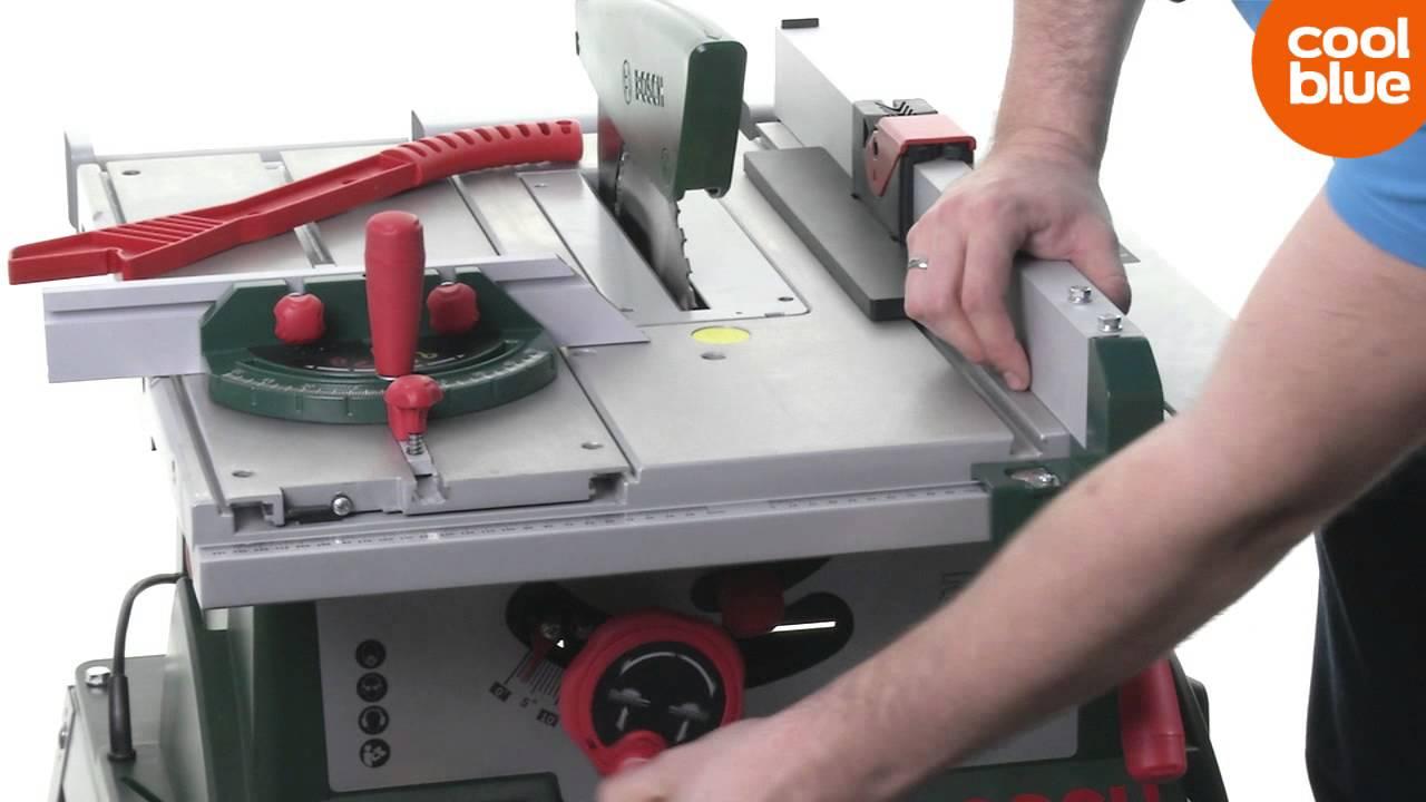 Bosch tafelzaagmachine