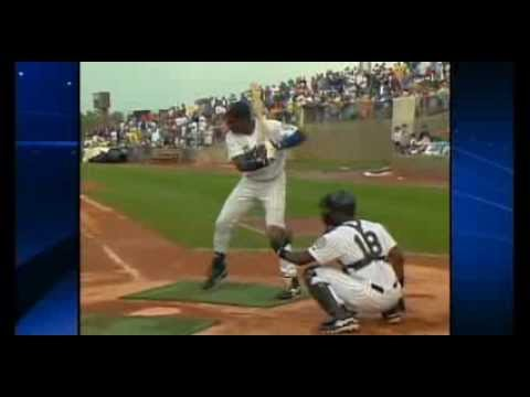 Alex Rodriguez, Ken Griffey Jr., and David Ortiz in 1996 Home Run Derby