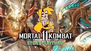 BATTLE OF THE KAHNS - Mortal Kombat 11: Story Mode (Part 2)