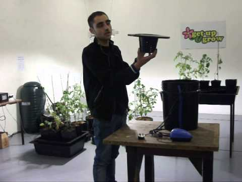 Bubbler Hydroponic Growing System - How To Set Up