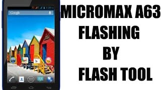 Micromax A63 Flashing